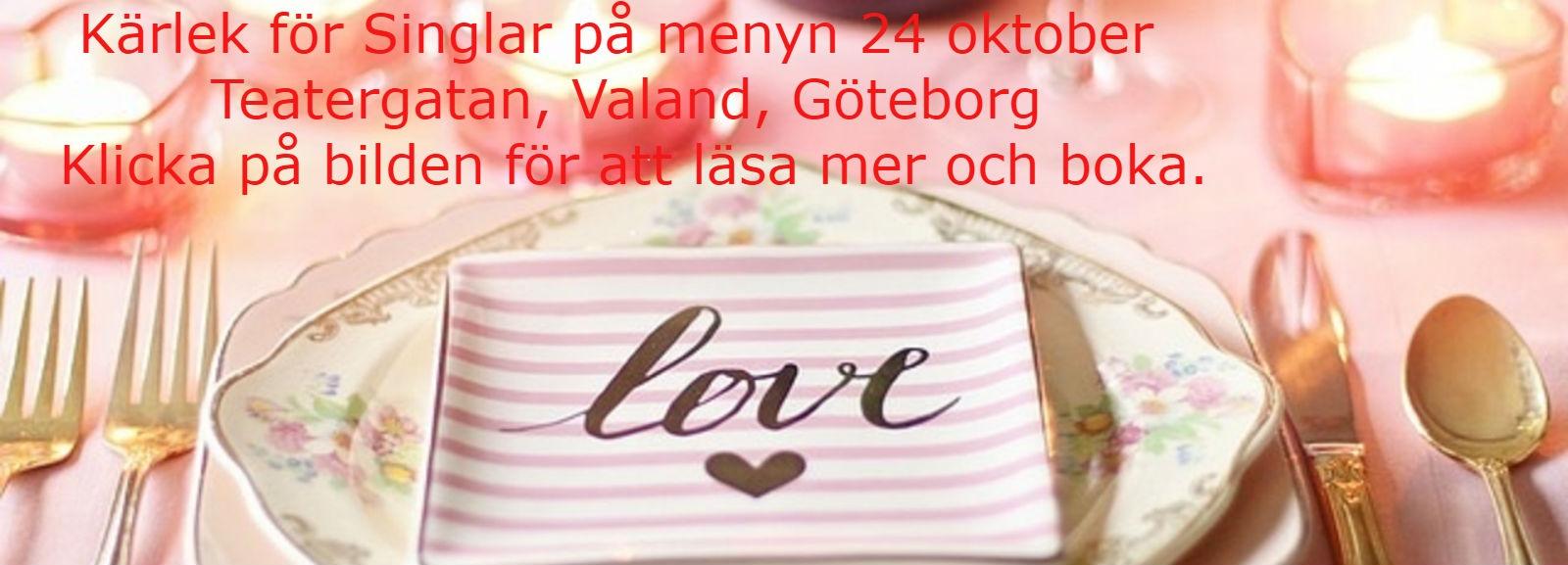 24 oktober kärlek på menyn