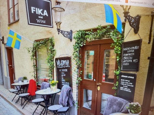 Singelträff i Stockholm på Fika and Wine torsdag 14/10