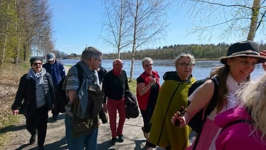 Singelpromenad i Umeå 6 december